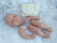 """Kit de muñeca de vinilo suave """"Pippa"""" Ojos azules completa de las extremidades & Pestañas disco Cuerpo Maniquí Rosa"""
