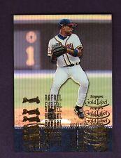 2001 Topps Gold Label RAFAEL FURCAL & TIM SALMON Multiple Stamp Error Card