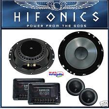 Hifonics  WR6.2C Komposystem 16,5 cm Lautsprechersystem mit Weichen und Blenden~