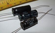 100 Nippon Chemi Con 1uf 50v axial bi-polar electrolytic capacitor 0257051 10x24