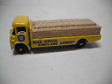 RARE LESNEY MATCHBOX #51 BPW ALBION CHIEFTAIN BLUE CIRCLE CEMENT RESTORED TO NM