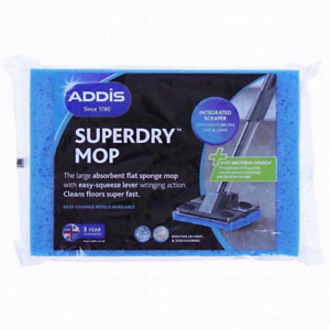 2 PACK ADDIS SUPER DRY MOP REFILL REFIL REFILLS SUPERDRY SQUEEZY UK