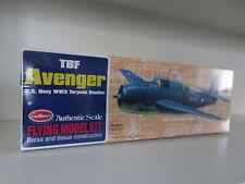 Modelbausatz Flugzeug, Guillows TBF Avenger Lasercut, Made in USA