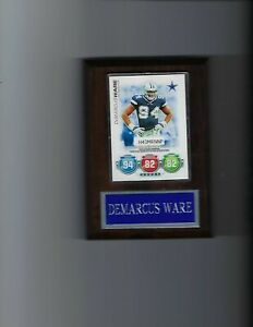 DeMARCUS WARE PLAQUE DALLAS COWBOYS FOOTBALL NFL   C