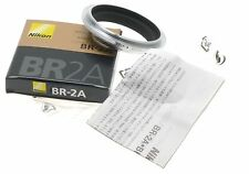 NIKON BR-2A REVERSING MACRO ADAPTER RING NEW BOXED ORIGINAL NIKKOR PAPERS DSLR