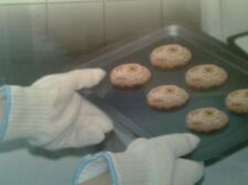 HIGH HEAT PROTECTION OVEN GLOVES UPTO 250c EASY GRIP FINGERS FOR KITCHEN OR BBQs