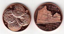 AV-VD Medaille 9. BMA Rostock Kulturhist. Mus.Stralsund Mittelalter Münzen (KT26