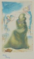 "SALVADOR DALI CELLINI ""THE ANGELS"" HAND NUMBERED SIGNED ETCHING"