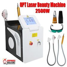 OPT Elight IPL Permanent Hair Removal ND YAG Laser Tattoo Removal with 2 Handles