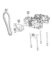 Genuine MOPAR Balance Shaft 5047992AC