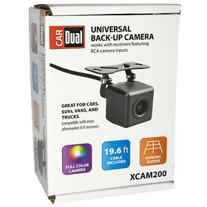 Car Dual UNIVERSAL BACK-UP CAMERA Full Color Rear View • 170° Wide Angle Lens