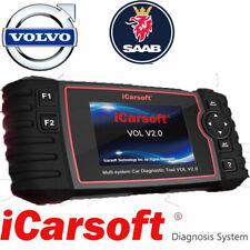 VOLVO SAAB OBD2 iCarsoft VOL V2.0 Diagnostic Scanner TOOL DPF SRS ABS ENGINE OIL