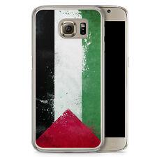Samsung Galaxy S6 Hard Case Hülle - Palästina Grunge Palestina Motiv Design Sch