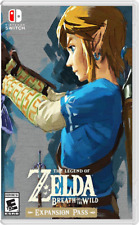 Legend of Zelda: Breath of the Wild Custom Cover/Case (Switch) NO GAME - INCL.