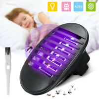 UV Light Socket Electric Mosquito Fly Bug Insect Trap Killer Zapper Night Lamp