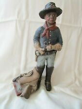 "Sarah's Attic ""Buffalo Soldier"" Signed Figurine"