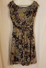 MISS SIXTY Collection 100% silk floral dress size medium