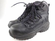 CONVERSE C864 Black Leather Composite Toe Work Safety Boots Sz 6.5 M