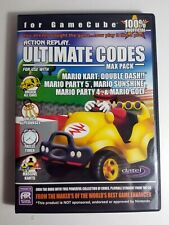 Mario Kart Party 4 5 Sunshine Golf Action Replay Ultimate Codes Gamecube USA