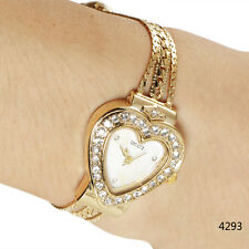 Luxury Crystal Shape Quartz Wrist Watch Bracelet Women Fashion New Quartz Watch