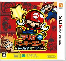 Nintendo 3DS Japan Ver. Mario vs. Donkey Kong Minna de Mini Land from Japan