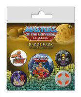 Masters of The Universe botones pin 5er-Pack I Have El Poder - He-man