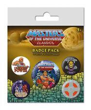 Masters of The Universe botones pin 5er-Pack I Have El Poder - He-man
