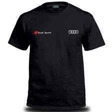 Genuine Audi RS5 Sport Car Racing Streetwear Motorsport Black Mens Tee T-Shirt