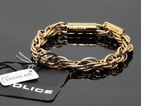POLICE Glamour Band Armband Edelstahl goldfarben PJ25491BSG/02-S - 20 cm