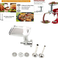 Steel Kitchen Meat Grinder Sausage Stuffer Attachment For KitchenAid Stand Mixer