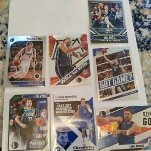 Luka Doncic 2019-20 Panini 2nd year lot 7 cards base