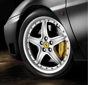 Genuine Ferrari 360 OEM Modular BBS Wheel Set 183843 183844 Forced Wheels 5x108
