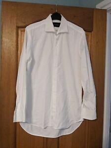 Oswald Boateng Shirt, White, 15 Neck