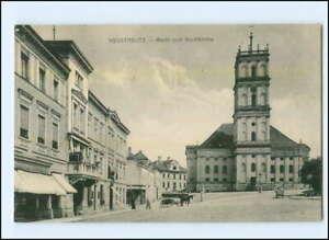 XX001664-72./ Neustrelitz  Markt Ak 1916