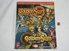 Golden Sun 1 & 2 The Lost Age Game Strategy Guide Nintendo GameBoy Advance Book