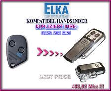 ELKA SKJ MINI kompatibel handsender, Klone, Ersatz fernbedienung 433,92Mhz