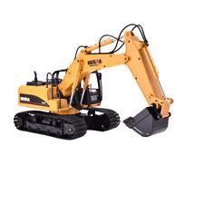 HUINA 1550 1:14 15CH 2.4G RC coche camión excavadora RC Crawler Metal Cubo De Metal