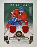 2017-18 17-18 UD Artifacts Material Silver #106 Alex Galchenyuk /125