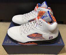 Nike Air Jordan 5 Retro International Flight Sail Blue Orange 136027 148 Size 12