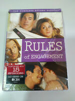 Rules of Engagement Complete Second Seasdon - 2 x DVD + Extras Englisj Nueva 3T