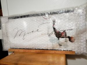 Michael Jordan UDA Framed Autographed The Show  1  46 x 20  SOLD OUT  LE 123