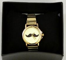 Ladies Peers Hardy Moustache Watch Quartz Movement Gift Boxed Expanding Strap