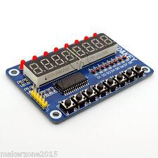 TM1638 for Arduino and Raspberry Control Panel - 8 Bit Digital LED Tube Module