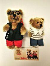 Lot of 2 Schuco Bearli Bears - Baby Boy & Grandpa - no box