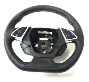 23406662 Steering Wheel without Paddle Shift Black Mohave 2016 Chevrolet Camaro