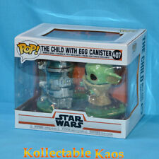 Star Wars Mandalorian - The Child With Egg Canister Pop Funko Deluxe #407
