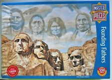 Founding Fathers Jigsaw Puzzle 550 Pc  Complete 18 x 24 Mount Rushmore