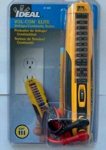 IDEAL Vol-Con® Elite Voltage/Continuity Tester 61-090 - CAT III - 1000 V - NEW