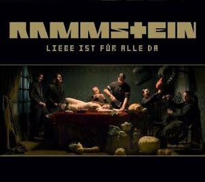 RAMMSTEIN Liebe Ist für Alle Da CD 2009