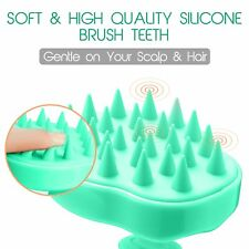 Soft Head Massager Brush Scalp Scrubber Hair Care Shampoo Comb
